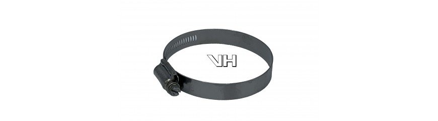 Slangklem Hi-Torque RVS